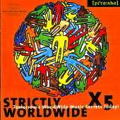 Various - Strictly Worldwide X 5 - presented by European Forum Of Worldwide Music Festivals