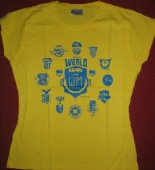 Piranha Kultur - T-Shirt HEIMATKLÄNGE 2006 (yellow / M)