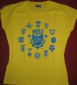 Piranha Kultur - T-Shirt HEIMATKLÄNGE 2006 (yellow / S)