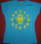 Piranha Kultur - T-Shirt HEIMATKLÄNGE 2006 (blue / L)