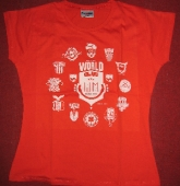 Piranha Kultur - T-Shirt HEIMATKLNGE 2006 (light red / L)