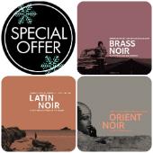 Various - # 3 Série Noir CDs: Brass + Latin + Orient Noir