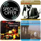 Various Artists - # 3 Nubian music CDs: Ali Hassan Kuban + Mahmoud Fadl + Salamat